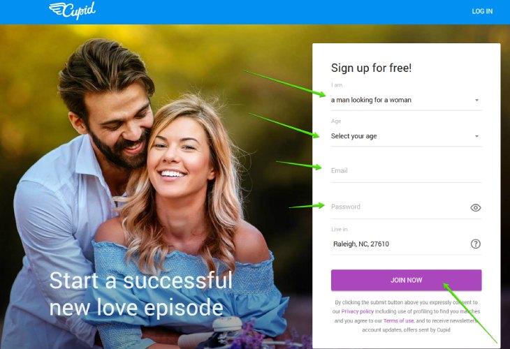 Cupid sign up maturedatingsites.co.uk
